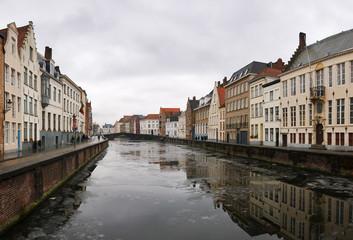 Brugge in winter