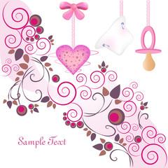 freudiges ereignis - rosa