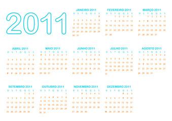 201 calendário português