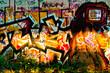 graffiti femme écran