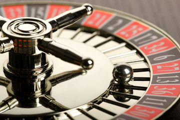 Close-up of Roulette