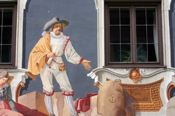 Fresque Chevalier Autriche