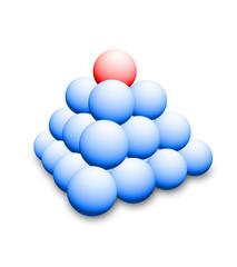 3d illustration of balls