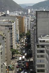 Brésil Rio ville des bus