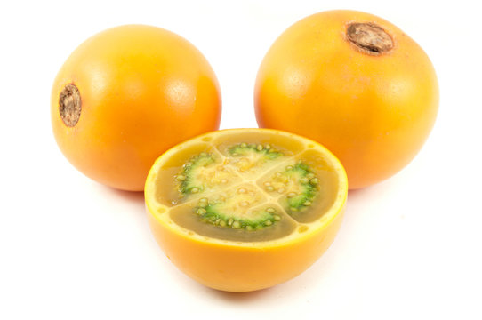 Lulo  fruit from Colombia