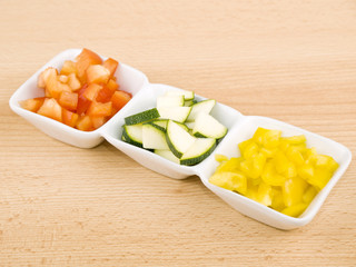 Fresh vegetable - healthy snack