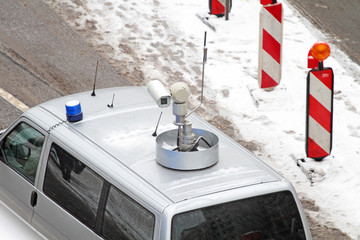 Videoüberwachungswagen