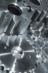 titanium gears machinery