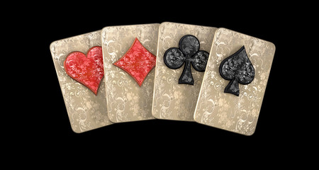 carte poker 4