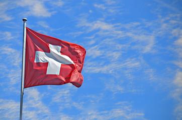 Wall Mural - Switzerland Flag