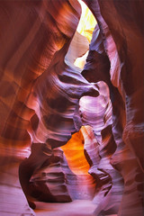 Canvas Prints Bordeaux Canyon