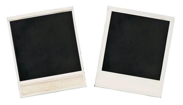 Old blank card