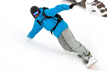 Freerider on the slope