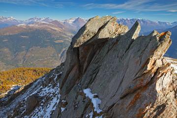 Piz-Tri Peak