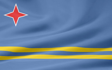 Flagge von Aruba
