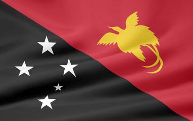 Flagge von Papua Neuguinea