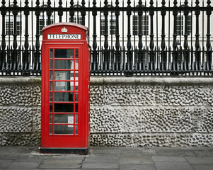 Telephone box, London