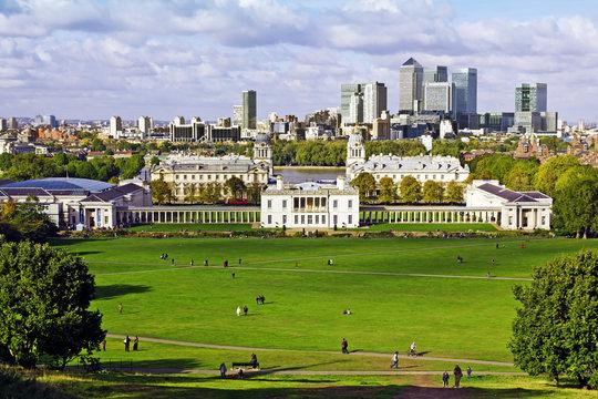 Greenwich and Canary Wharf