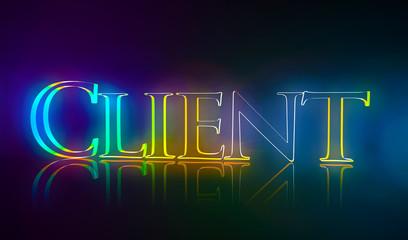 3D Typografie Client