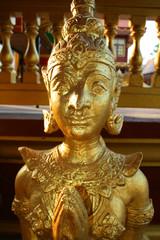 Angel statue in Thailand.