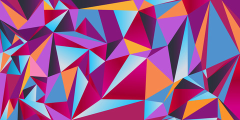 Triangle vector seamless texture