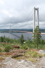 Pont de Höga Kusten, Suède
