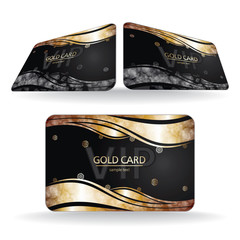 Christmas Vip Gold Card