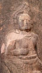 Buddha carving On Stone