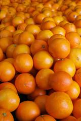 pile of navel oranges