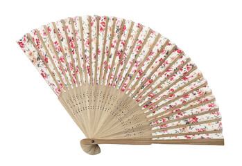 Traditional asian fan