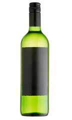 Wine bottle. Classic, attractive bottle of wine.