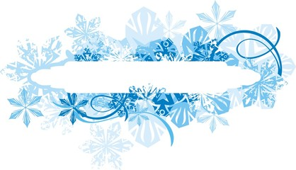 Ornamental Winter Background