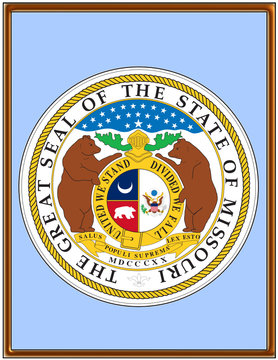 USA state missouri seal emblem coat