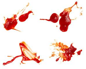 Fototapeta ketchup stain dirty seasoning condiment food obraz