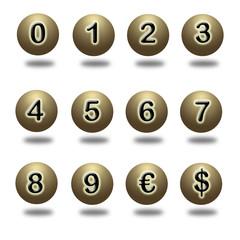 Cifras del dinero