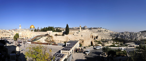 Panorama of the Temple Mount