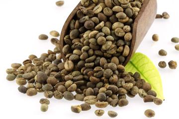 Canvas Prints Coffee beans café non torréfié