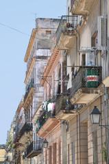 Havanna Häuserzeile im Zentrum