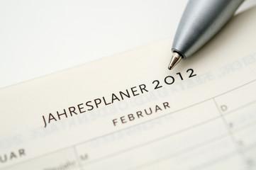 Jahresplaner 2012
