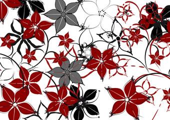 Blumen Floral Tapete Muster