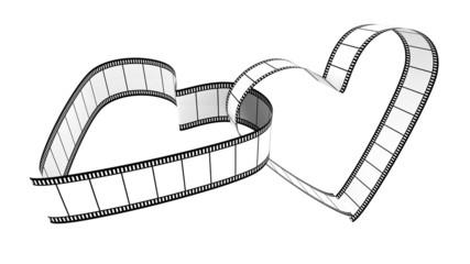 Two Blank Filmes Heart