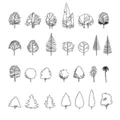 tree graphics vector