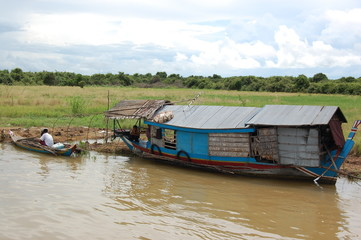 Habitation flottante