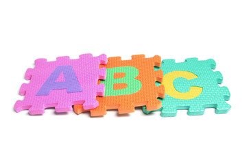 Alphabet Puzzle Pieces
