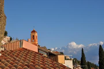 Dächer über Roquebrune