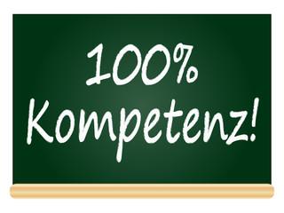 100% Kompetenz!