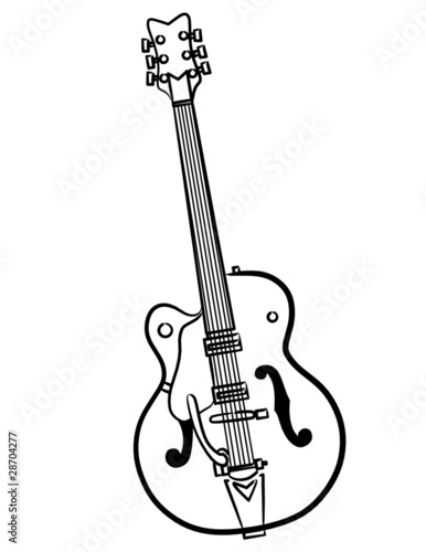 simple electric bass guitar line art illustration stock photo and Ibanez SR805 5 String Electric Bass Guitar simple electric bass guitar line art illustration stock photo and royalty free images on fotolia pic 28704280