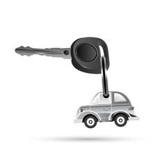 key with car