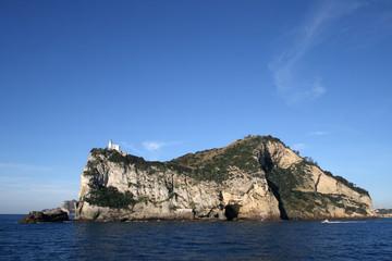Wall Mural - Capo Miseno visto dal mare