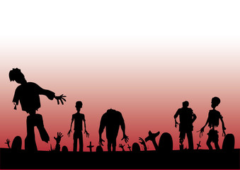 Zombies footer